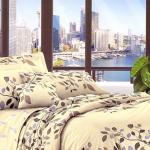 Сатин люкс ТМ TAG Комплект постельного белья с компаньоном S 146